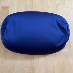 Navy Squish Microbead Bean Bed Neck Pillow